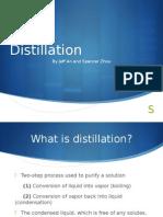 Chemical Distillation