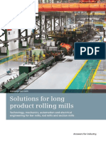 Solutions Long Product Rollling Mills En