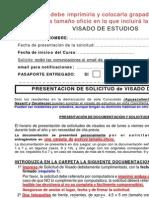 Fases y Requisitos Visado de Estudios