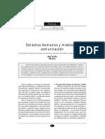 DDHH y Medios de Comunicacion