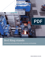 Rolling Red Ring Stands En