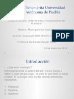 Línea de Tiempo Municipios en México