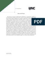 IJM2C 2015 - Vol 5, No 1, SN 17