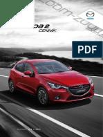 Mazda2 - cenník január 2015