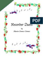 Duos Para Flauta Dulce Soprano
