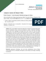 Analysis Matrix for Smart Cities