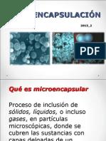 2. Clase Microencapsulación