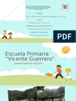 Informe Analítico, Crítico y Reflexivo Del Diagnóstico Pedagógico-curricular.
