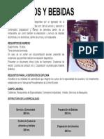 Informacion Curso Alimentos y Bebidas Distrito Federal