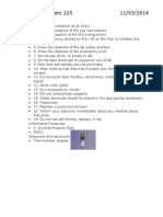 Study Guide for Orgo Lab