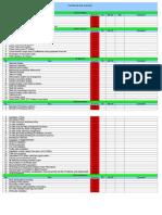 Sites Checklist