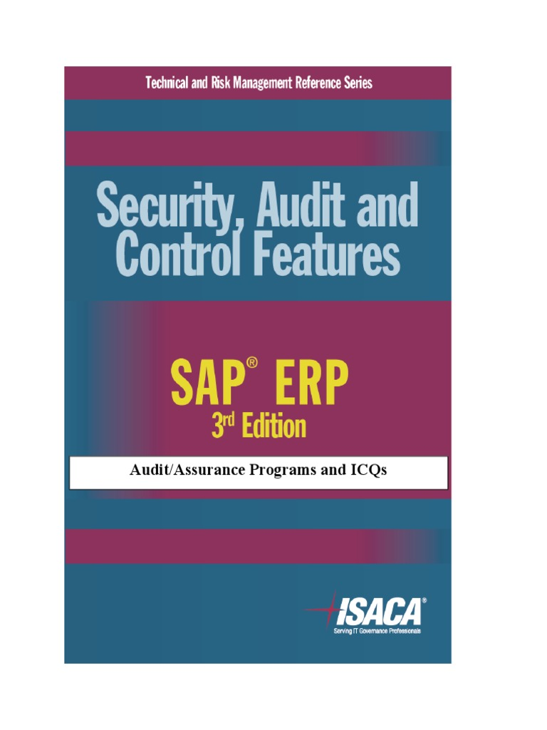 Security Audit and Control Features SAP ERP 3rd Edition Icq