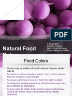 Nautral Food Colour