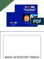Manual de detección de cataratas para promotores de salud