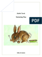 Rabbit Turds Marketing Plan