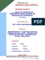 03_informe_diseños de Mezcla de Concreto