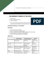 Consti II Notes