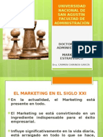 MArketing Estratégico Doctorado Administración