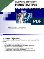 Administrative Professional 1st file
