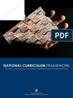 National Curriculum Framework
