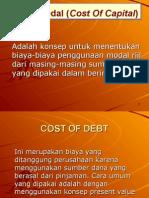 Materi 1 Cost of Capital
