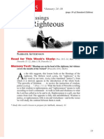 1st Quarter 2015 Lesson 5 Teachers' Edition the Blessings of the Righteous