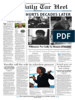 The Daily Tar Heel for Jan. 26, 2015