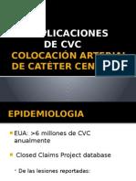 Complicación CVC