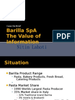 barilla and the jitd system supply chain demand barilla case report and solution