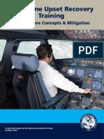 Aeroplane Upset Recovery Training