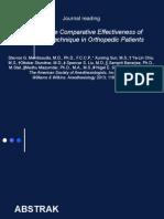 Journal Reading Anesthesia