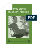 (Psychology, Self-Help) Nimh - Attention Deficit Hyperactivity Disorder (Adhd) (2006 Edition)