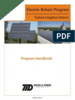 Turlock Irrigation District - Solar Rebate Program