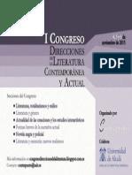 Cartel Congreso Contrapunto UAH