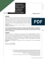 MULTICULTURALISMO A  LA COLOMBIANA Y VEINTE  AÑOS DE MOVILIZACIÓN  ELECTORAL INDÍGENA