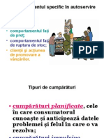 Comportamentul Specific in Autoservire