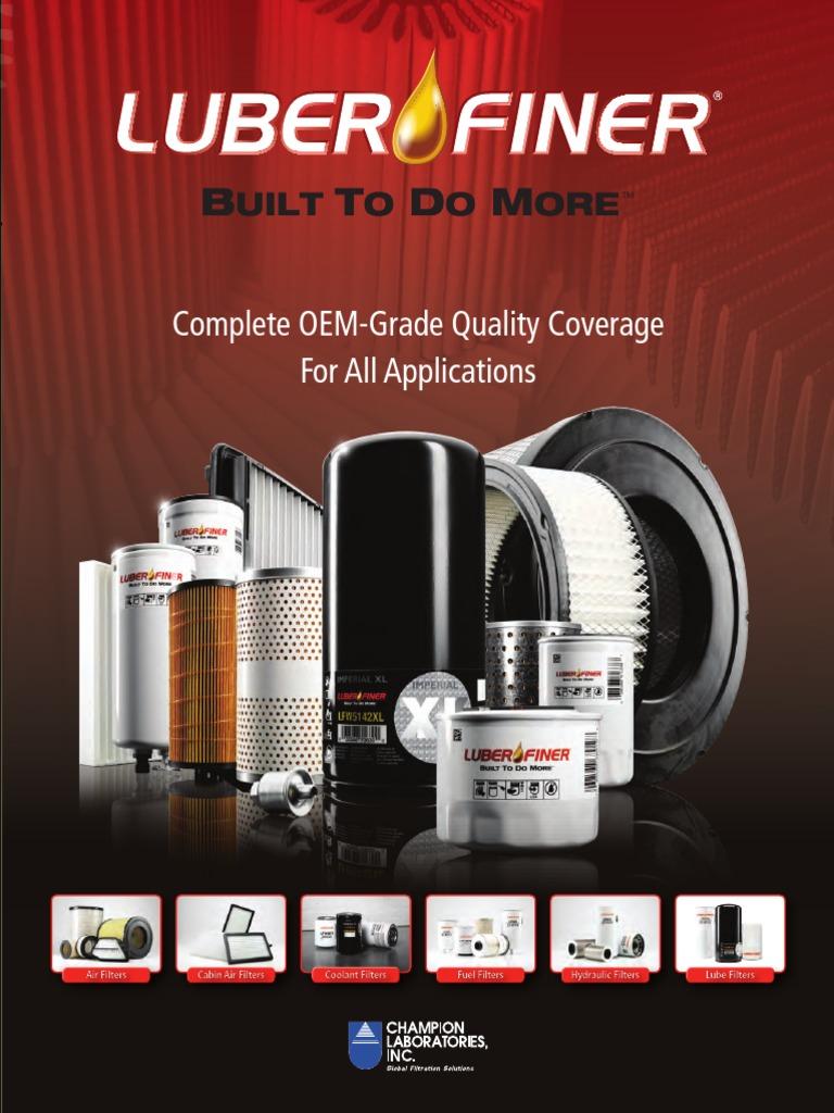 L F Family Brochure 022511 Filtration Transmission Mechanics M300 Fuel Filter