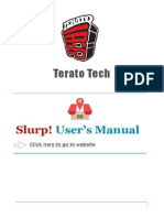 Slurp! Cloud User Manual