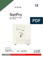 UPS - Netpro Operation Manual 0k6 1k5 Va
