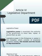 Articlevi Legislativedepartment 140223052603 Phpapp01