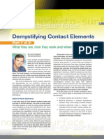 ANSYS Demystifying Contact Elements