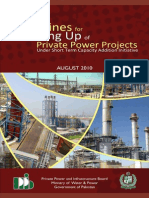 Final Guideline Book for power projects