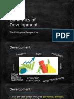 Dynamics of Development