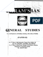 SIELENT  FEDURES  OF  INDIAN  SOCIETY ,  DIVERSITY  OF  INDIA   PAPER=II