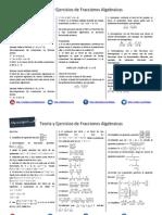 Teoría y Práctica de Fracciones algebraicas.pdf