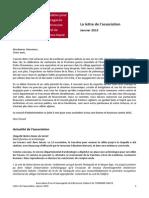 Lettre Info APSPCTH 01.2015