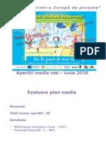 Raport Mediatizarea Ziua Europei
