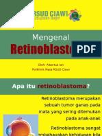 Mengenal Retinoblastoma