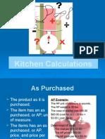 PSII S3Kitchen Calculations