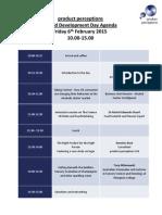 Liquid Development Day Agenda
